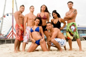 "The cast of MTV's ""Jersey Shore"""