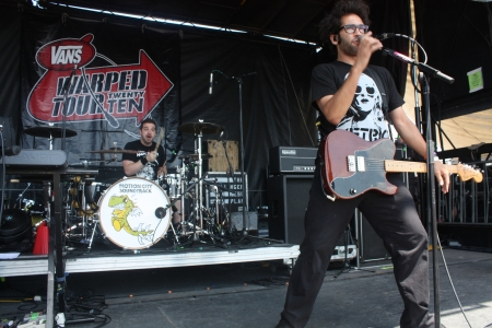 Motion City Soundtrack at Warped Tour