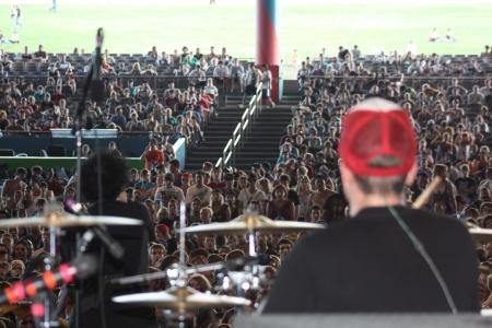 Sum 41 at Warped Tour