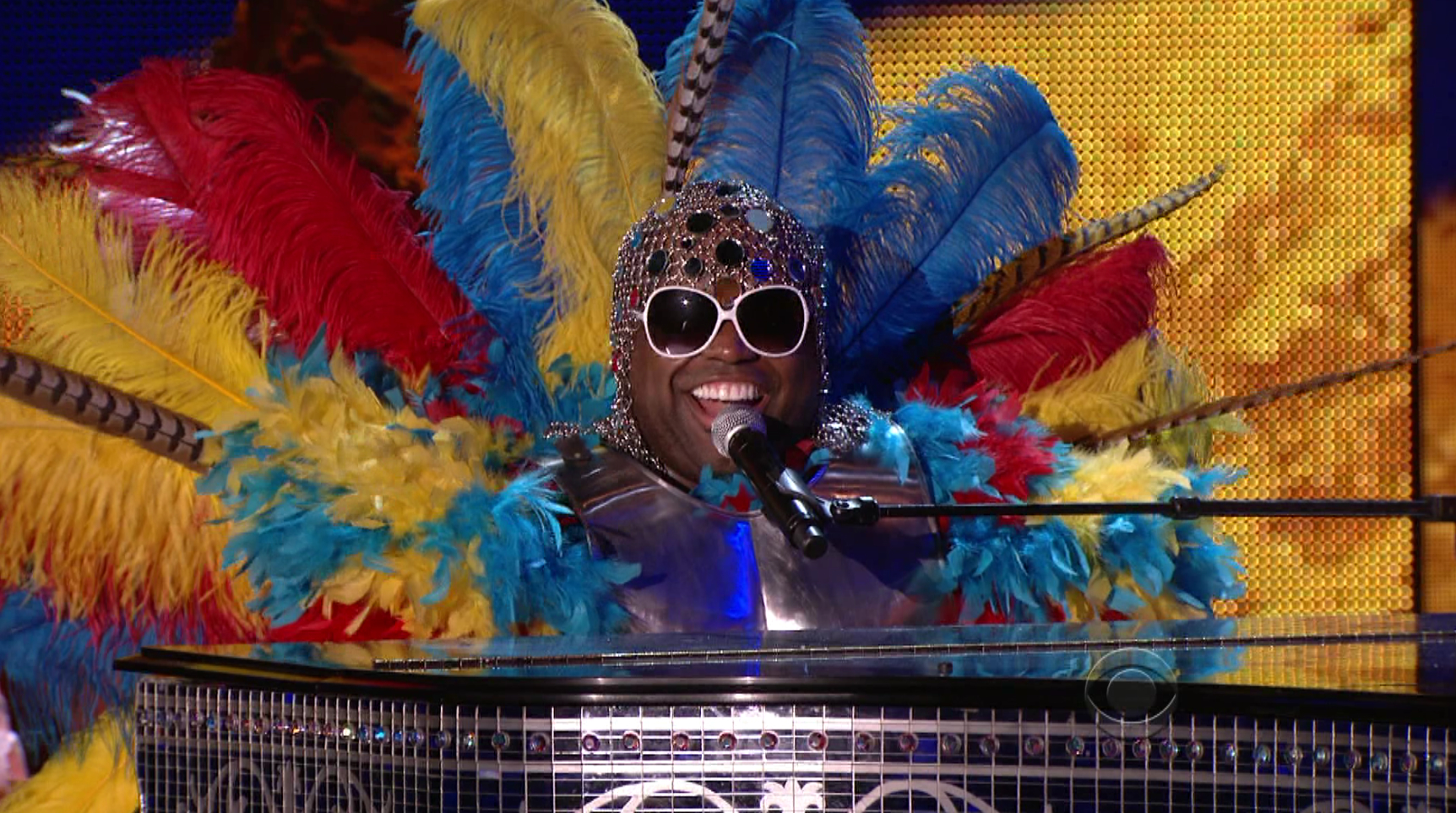 Cee-Lo Green performing at the 2011 Grammys