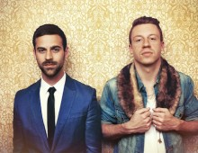Producer Ryan Lewis (left), rapper Macklemore (right)