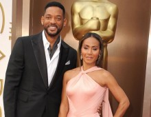 The Smith's at the Oscars in 2014